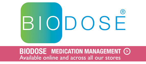 Biodose Medication Management - Available across all stores