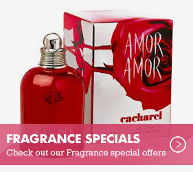 Fragrance Special Offers- online and in-store